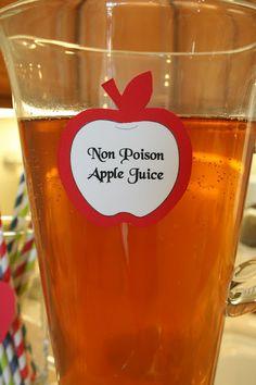 Posión mágica de manzanas