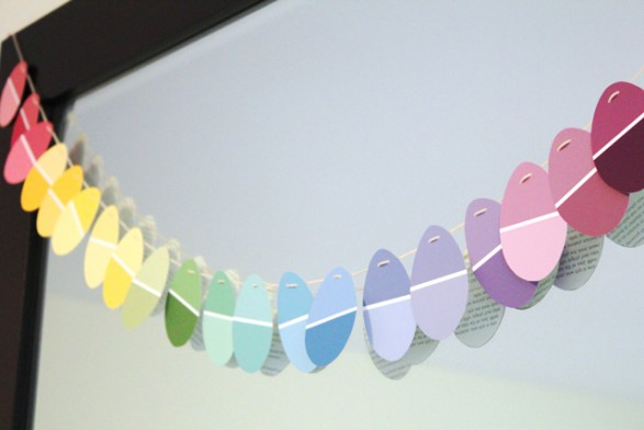 Guirnalda de huevitos de colores