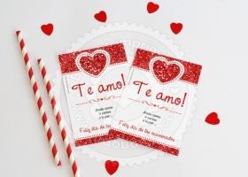Imprimibles para enamorarse...