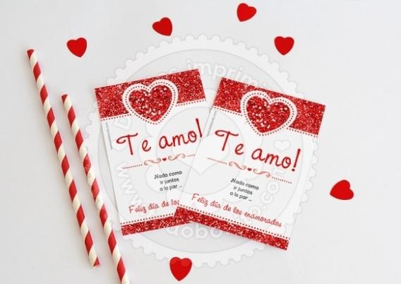 Imprimibles para enamorarse…