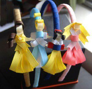 Vinchas con princesas