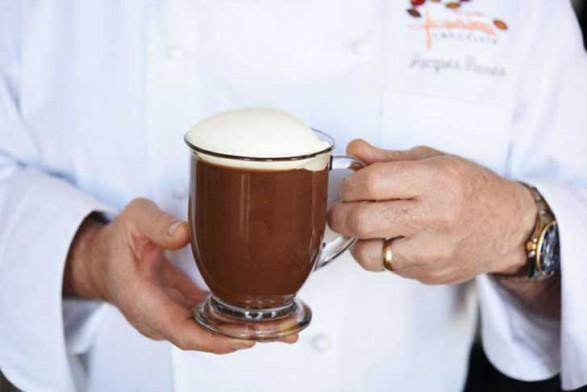 Chocolate de buenas manos