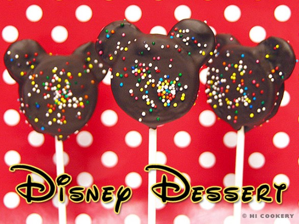 Cookie Pops Mickey