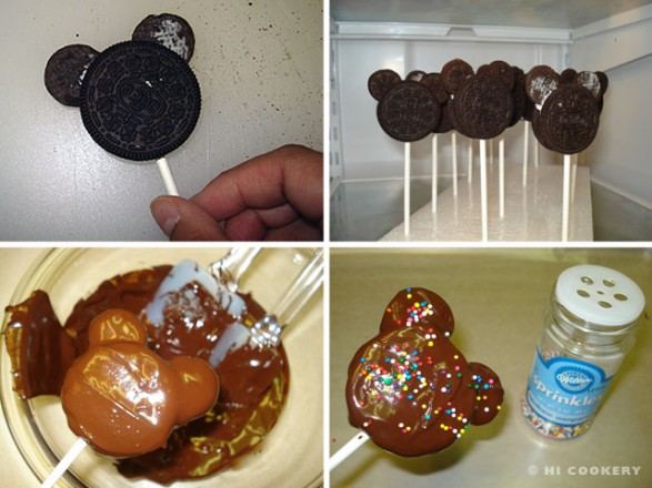 Cookie Pops Mickey Paso 2