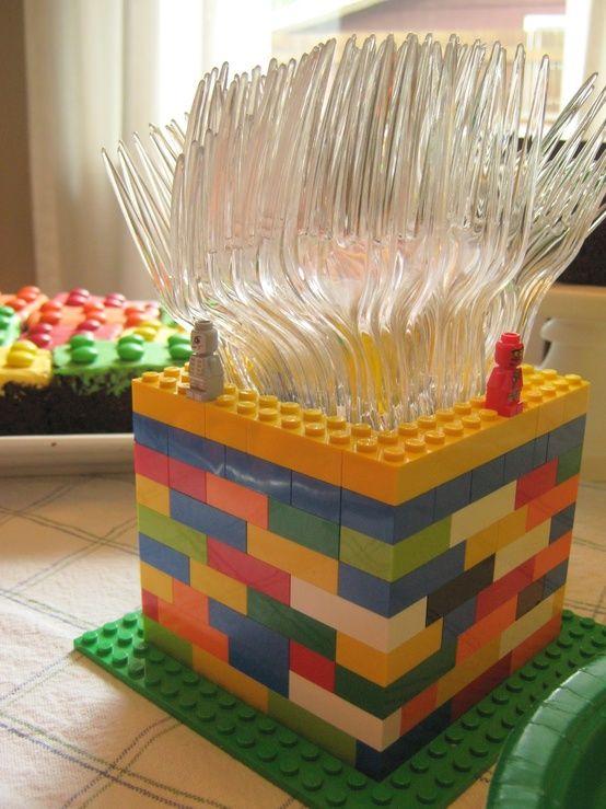 Cubiertero Lego