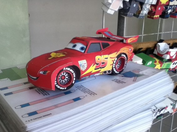 Rayo McQueen 3D imprimible!
