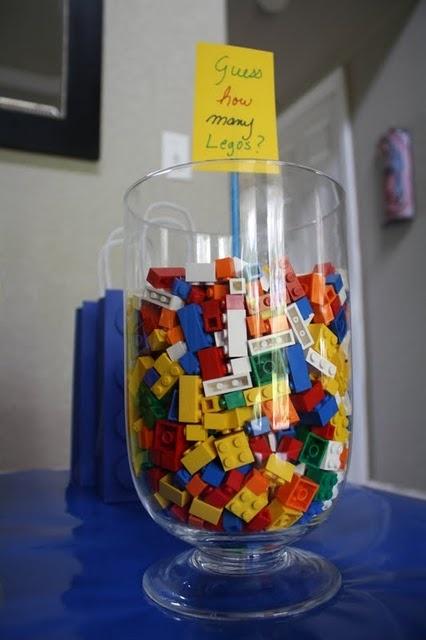 Juego para adivinar cuántas piezas de lego hay