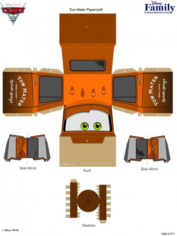 Tow Mater 3d Imprimible Gratis Todo Bonito