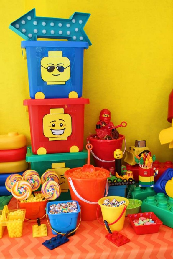 Mesa dulce Lego
