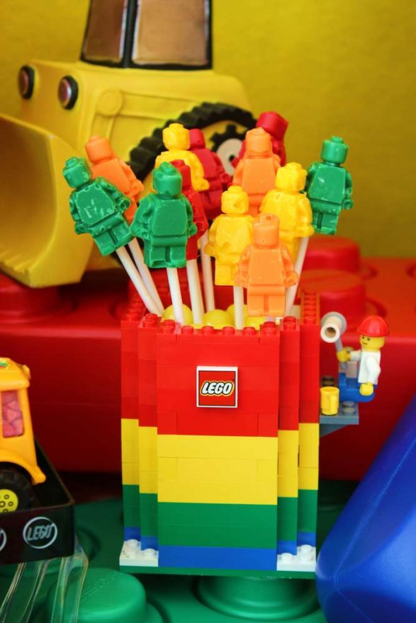 Paletas Lego Party