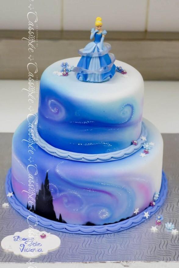 Bellas tortas de Cenicienta - Todo Bonito