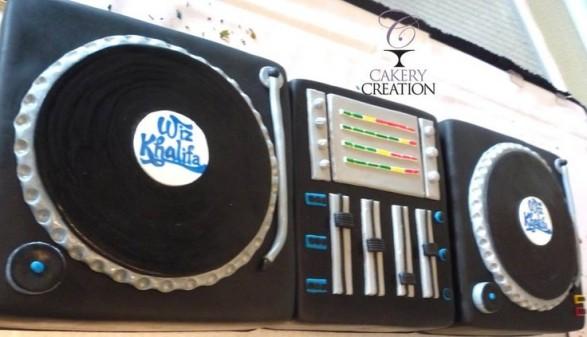 Torta DJ 3