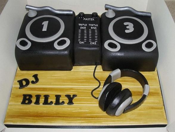 Torta DJ 5