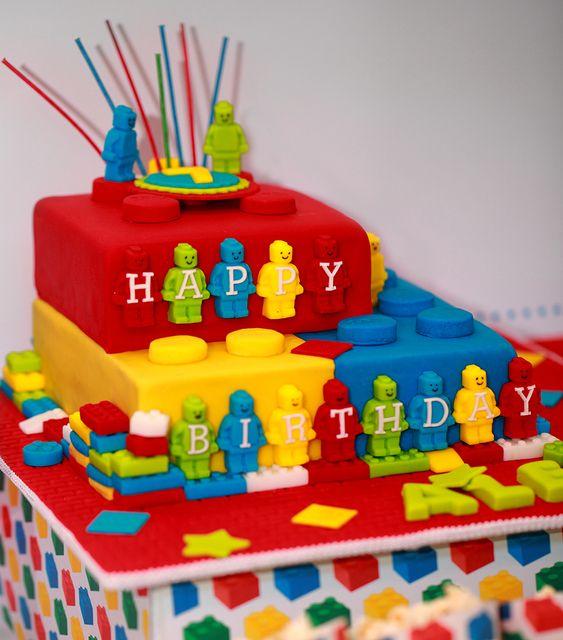 Torta Lego 3