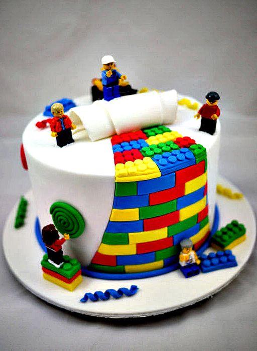 Torta Lego 4