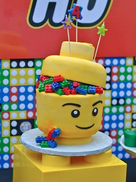 Torta Lego 5