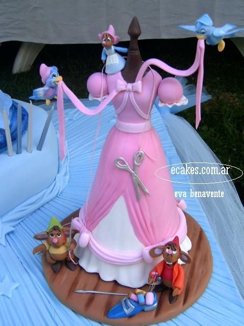 Torta vestido cenicienta
