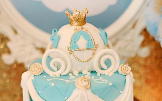 Bellas tortas de Cenicienta