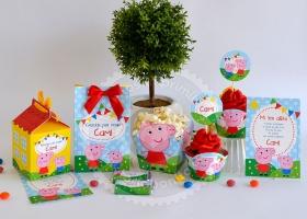 Diseños imprimibles para cumpleaños Peppa Pig