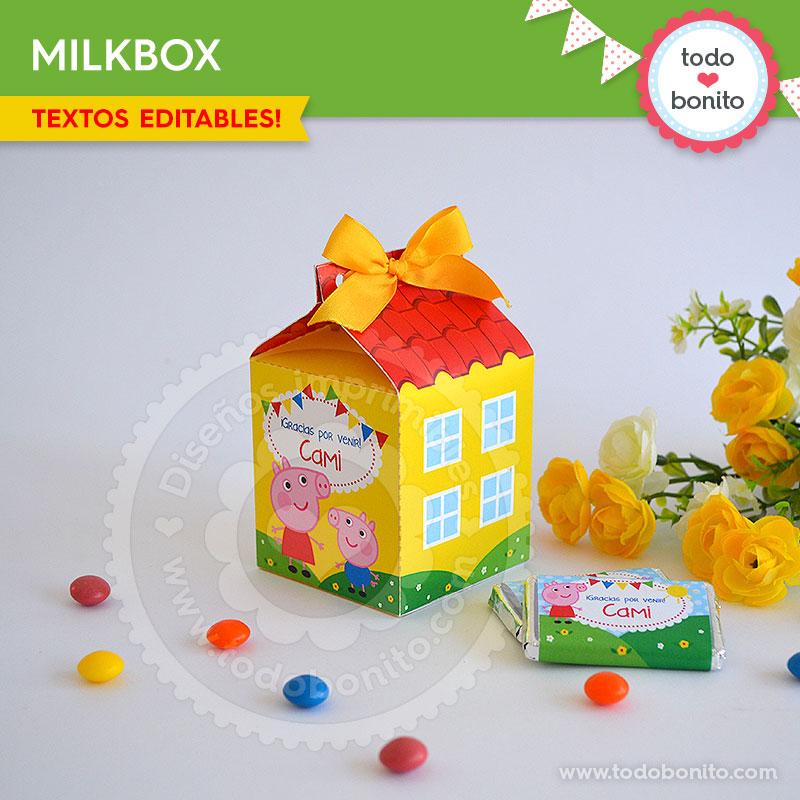 Peppa Pig: milkbox casita