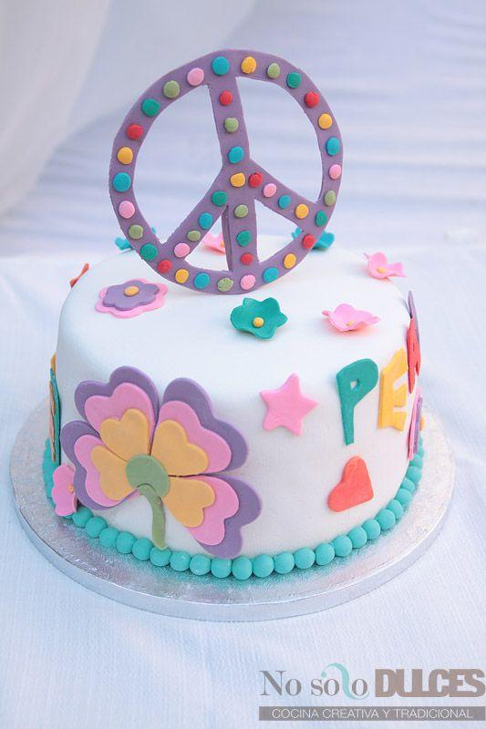 Torta simple con simbolo