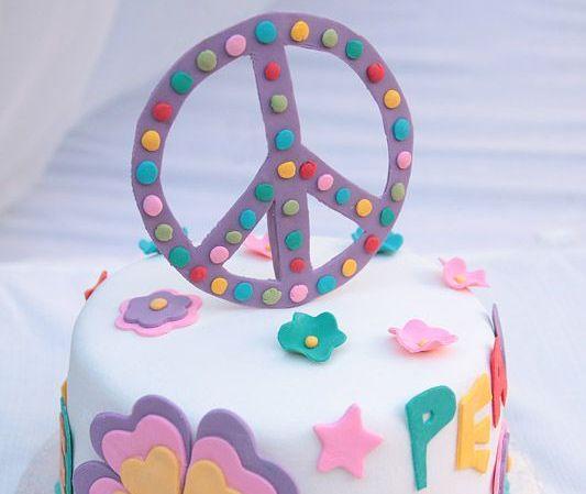 Inspiración: tortas Paz y Amor