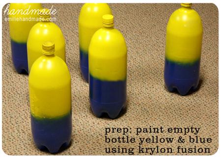 Pintar las botellas