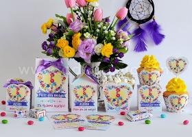 ? Amor & Paz ? Kits imprimibles por Todo Bonito