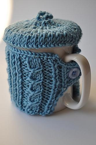 Azul con tapa