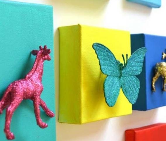 Decorando paredes infantiles