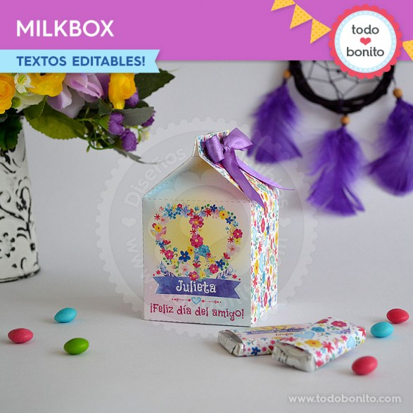 Amor & Paz caja milbox