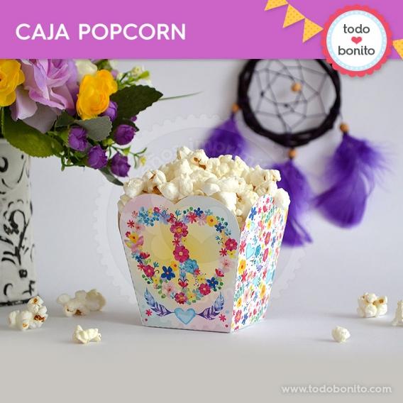 Amor & Paz caja popcorn