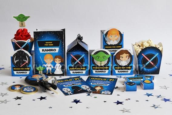 Kits imprimibles Star Wars
