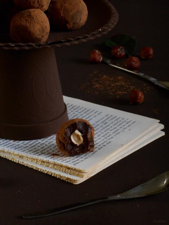 trufa de chocolate