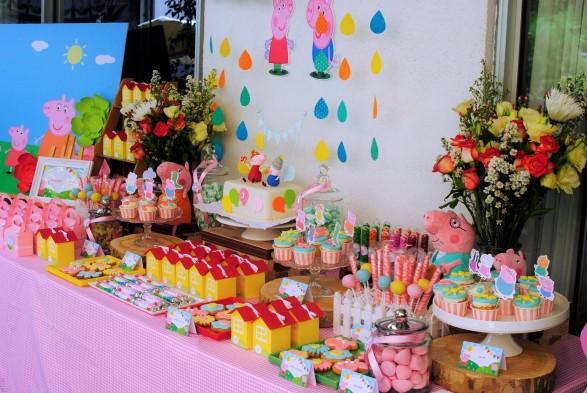 Mesa dulce Peppa