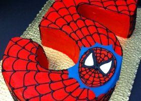 Torta del hombre araña