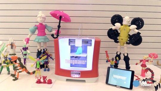 impresora 3D para niños