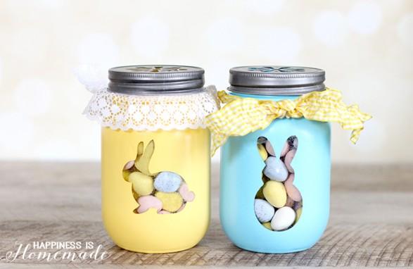 frascos de conejos