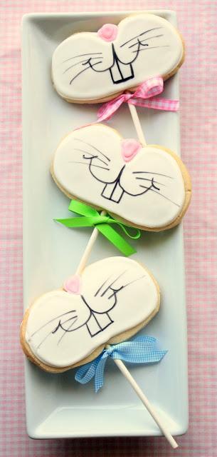 Divertidas galletas de conejitos