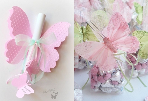 Decoración de mariposas