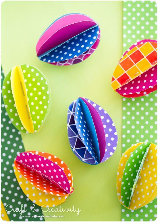 huevos de papel