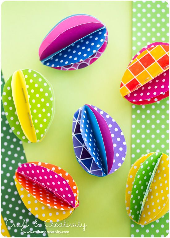 Hermosos huevos de pascua para decorar