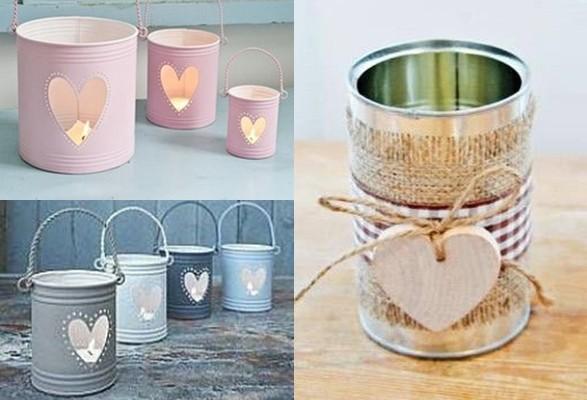 Ideas para decorar con latas todo bonito for Ideas para decorar la casa reciclando
