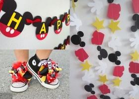 Diferentes ideas de decoración con Mickey Mouse