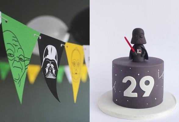 Ideas para cumpleaños de Star Wars
