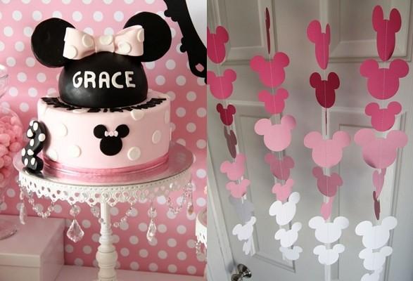 Ideas para decorar tu fiesta de Minnie Mouse