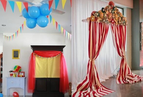 ideas de fiesta circus