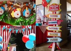 ideas de fiesta circo