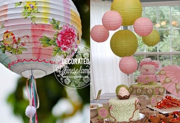 decoración con lamparas