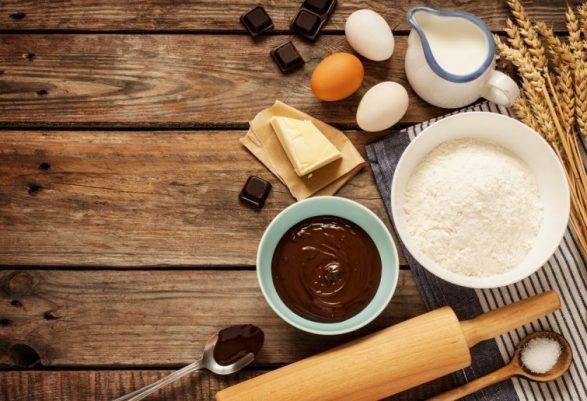 mousse de chocolate y café